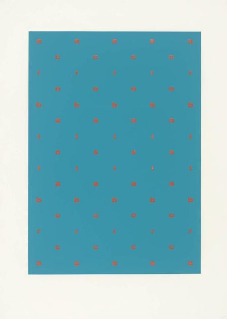 Acrobats 1966 Ian Hamilton Finlay 1925-2006 Purchased 1981 http://www.tate.org.uk/art/work/P07450