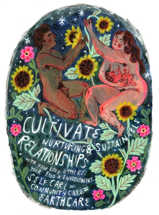 Cultivate Nuturing & Sustainable Relationships by Phoebe Wahl (2014)