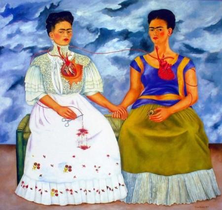 Las Dos Fridas (Two Fridas) by Frida Kahlo