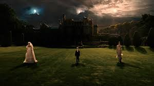 Screenshot from Melancholia (Von Trier 2011)