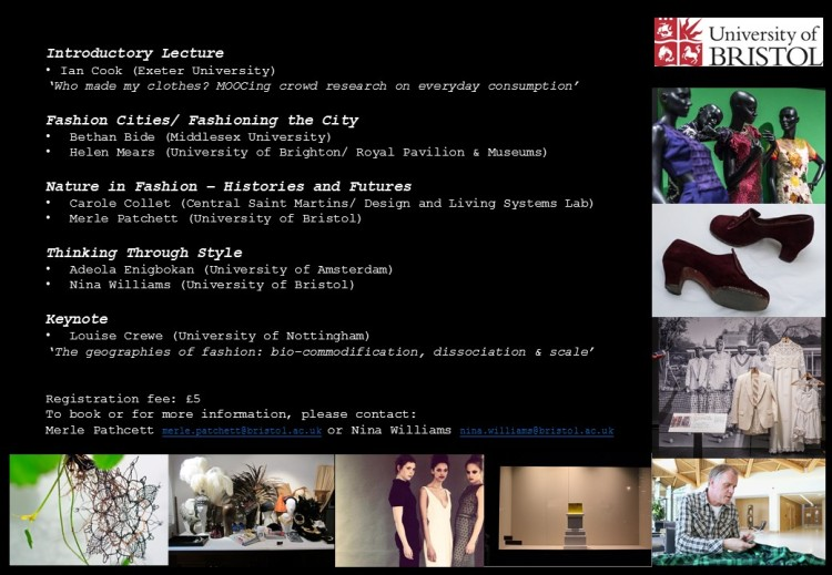 Geographies of Fashion and Style Symposium